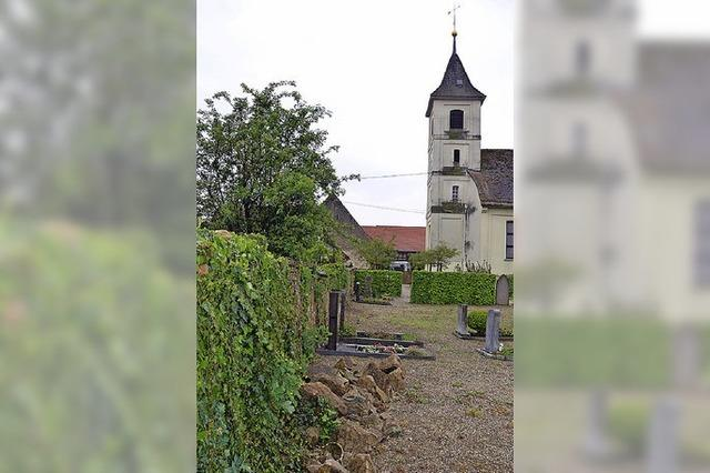 Mauer des Friedhofs Seefelden wird saniert
