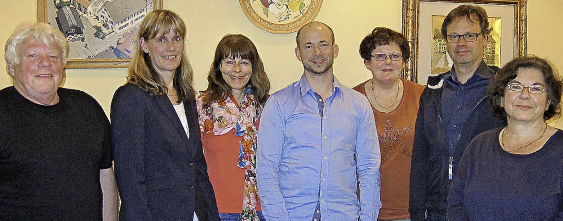 Der Vorstand des SPD-Ortsvereins (von ... Blust, Bernhard Kiesel, Birgitta Hiss  | Foto: privat