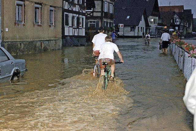 Mehr Hochwasserschutz nur mit vielen Millionen Euro machbar