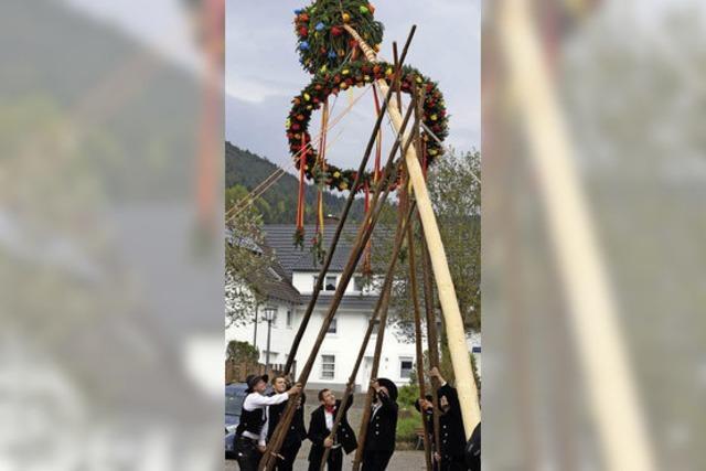 Maihocks und Feste in Lahr, Seelbach, Schuttertal, Friesenheim und Hohberg