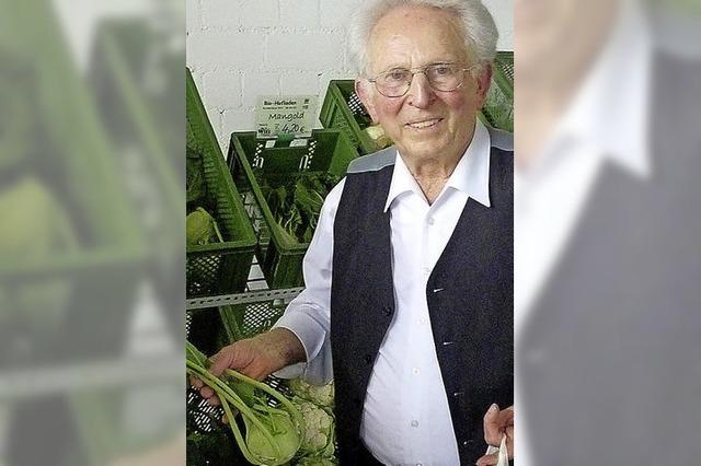 Hans Witt wurde 85 Jahre