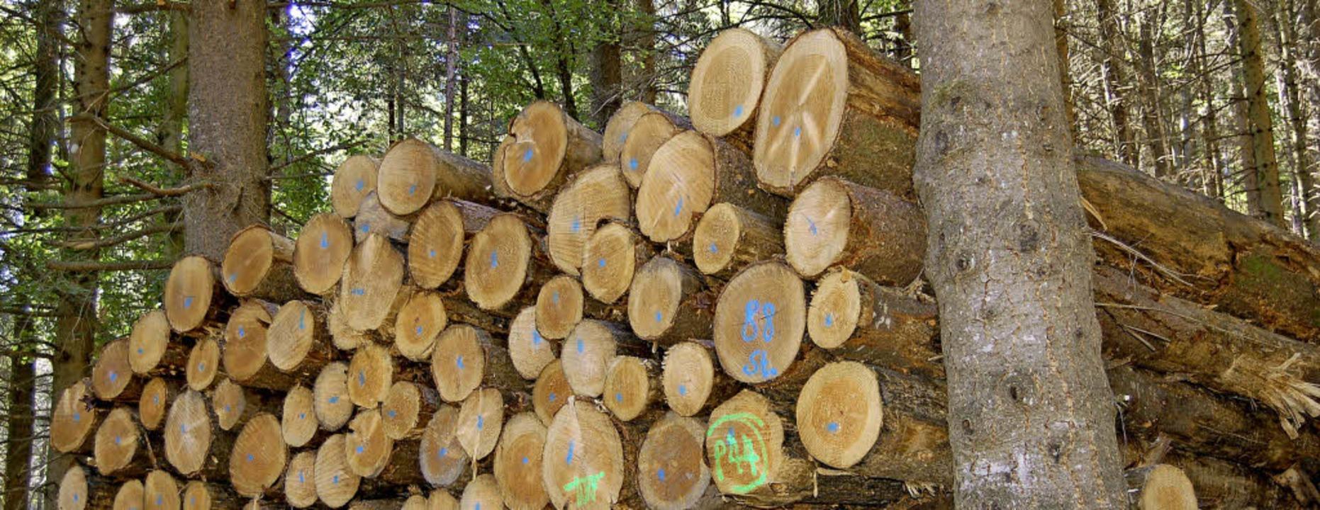Kein Staat Mehr Beim Holzverkauf Zell Im Wiesental Badische Zeitung
