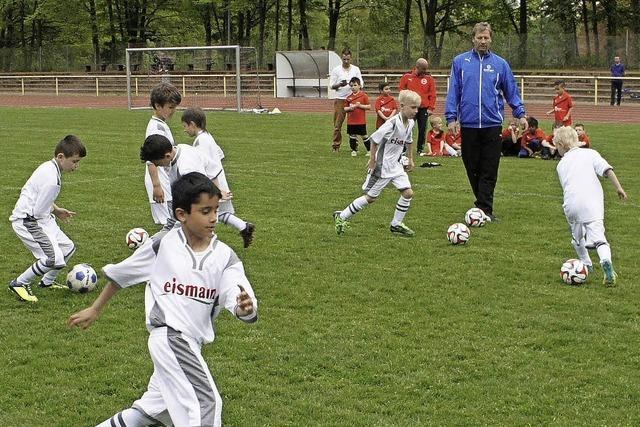 Training mit Weltmeister