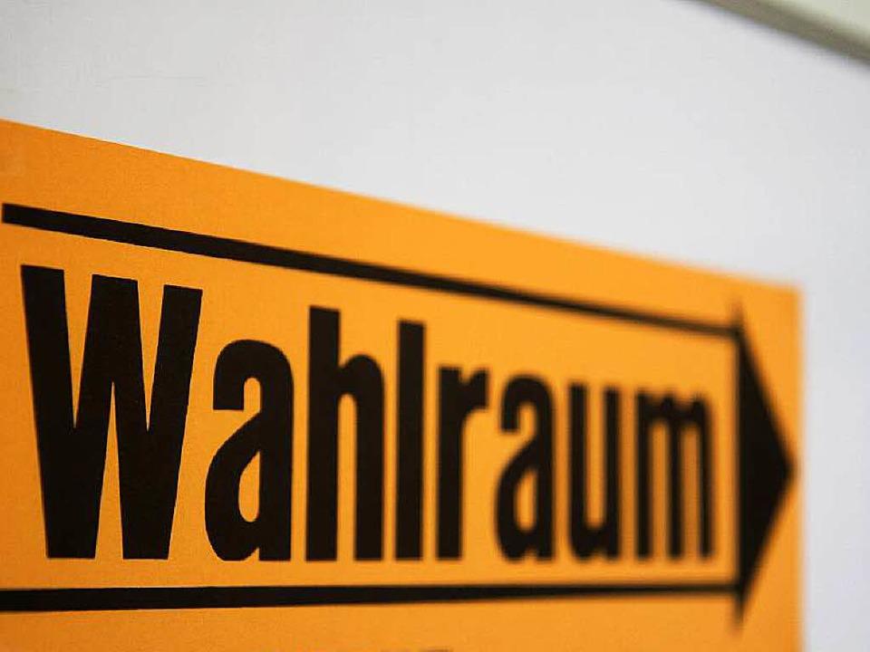 Führt der Weg für die Neuenburger Bürger noch einmal in den Wahlraum?    Foto: Daniel Fleig
