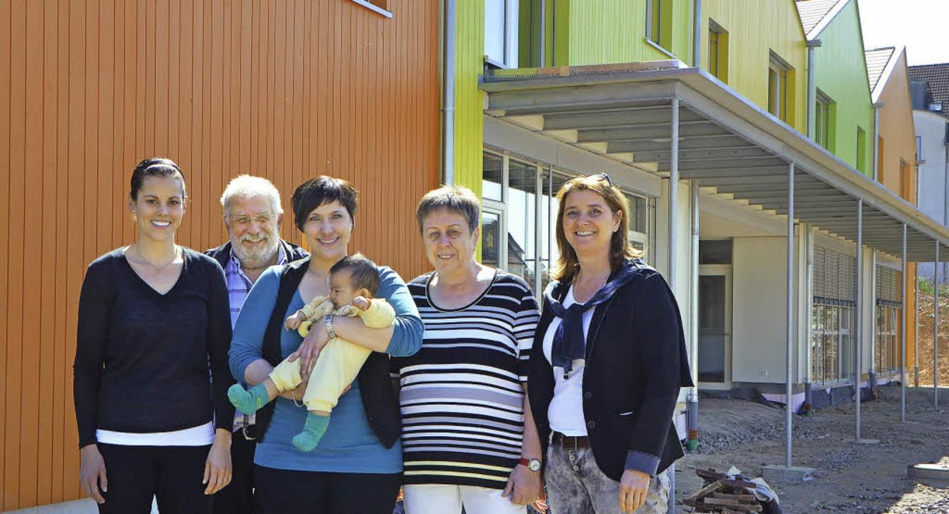 Das Leitungsteam der neuen kunterbunte... Christine Kramer-Horneck (von links).  | Foto: Gerhard Walser