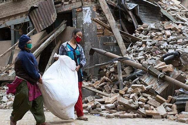 Nach dem Beben: Die Zeit wird knapp in Nepal