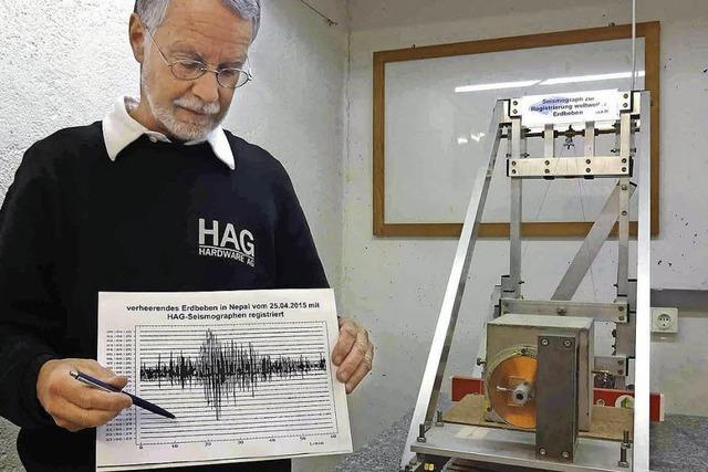 Erdbeben in Nepal erreicht Seismographen in Staufen