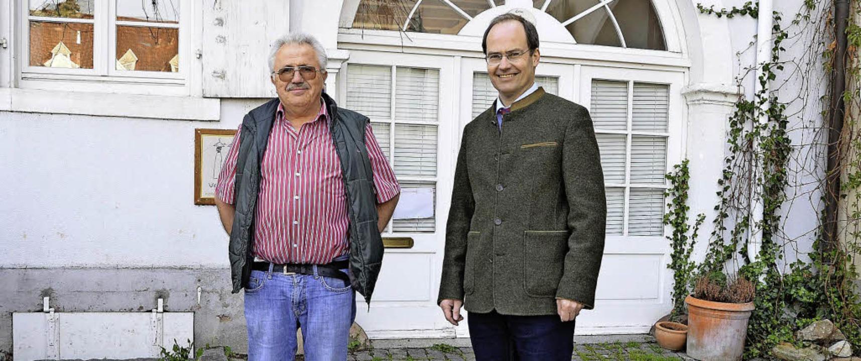 Sie sind zuversichtlich, dass  diese E...ermeister Christian Renkert (rechts).   | Foto: Markus Maier