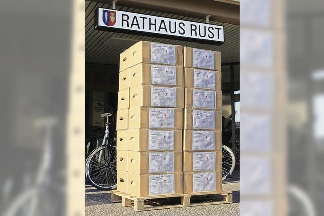 Auch das Grundbuchamt in Rust ist geschlossen
