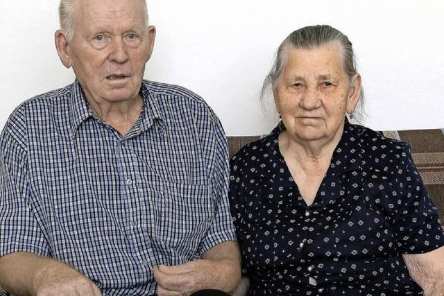 Seit 65 Jahren sind sie ein Paar