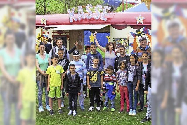 Sport und Zirkus für Flüchtlingskinder