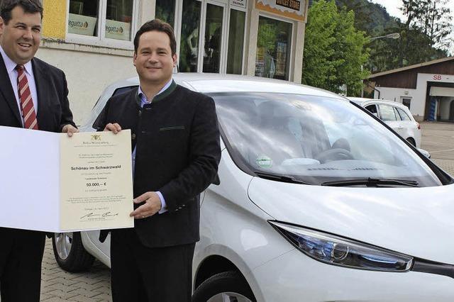 Elektro-Auto für Schönau
