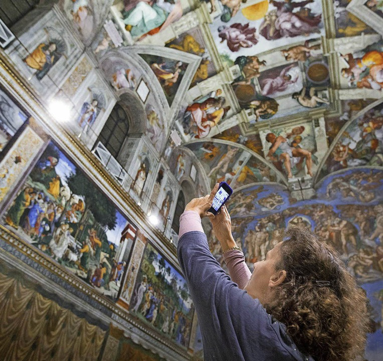-  | Foto: Musei Vaticani/Ansa/Claudio Peri
