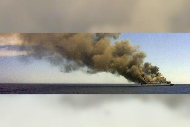 Fähre vor Mallorca brennt - Rettung erfolgt vorbildlich