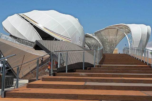 Italien will mit der Expo sein Image aufbessern