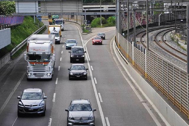 Basel drängt auf Autobahntunnel unterm Rhein hindurch