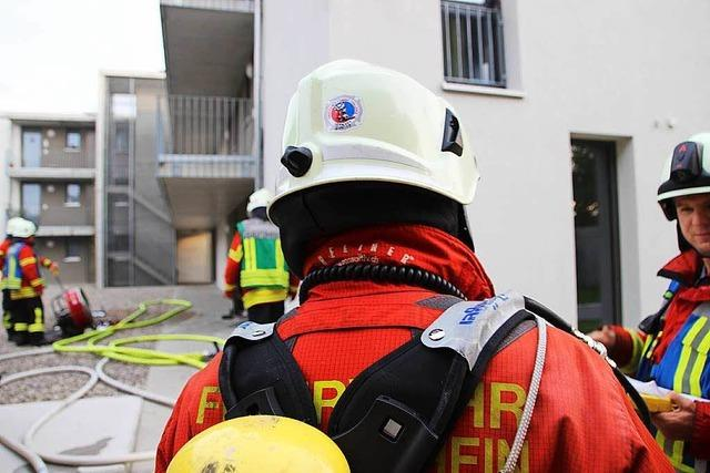 Feuerwehreinsatz am Messeplatz