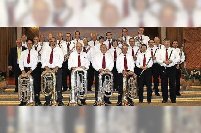 Die Blaskapelle Harmoni Turgi Gebenstorf zu Gast in Höchenschwand