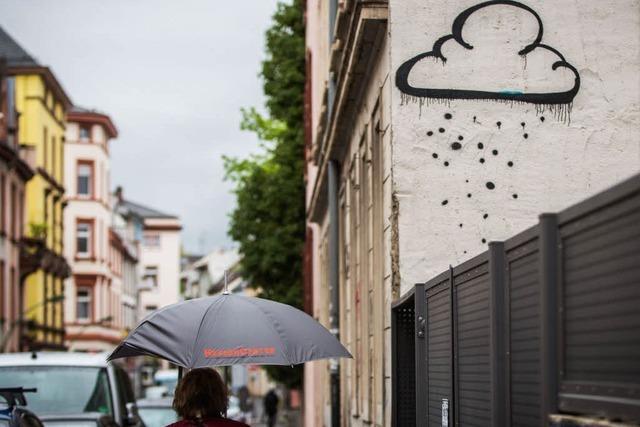 Starkregen am 1. Mai lässt Pegel steigen