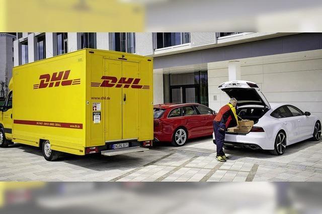 Auto als Packstation