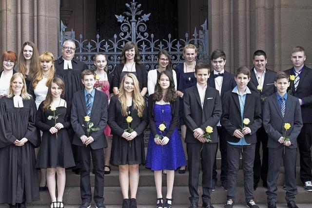 Gottes Segen für junge Christen in Schopfheim