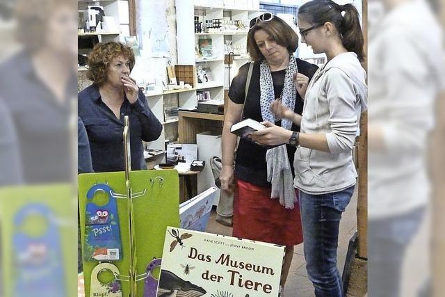 Schüler managen den Buchladen