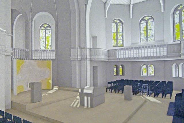 Christuskirche in der Wiehre wird saniert