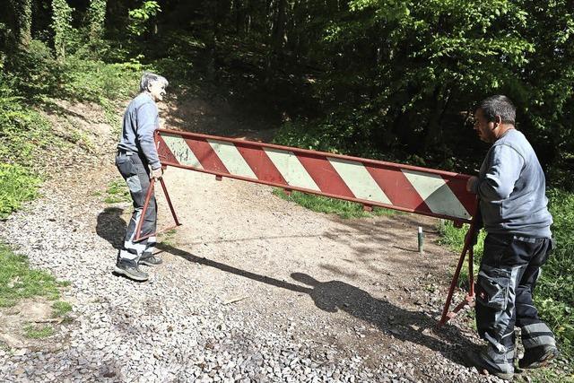 Ärger um Burgpfad auf die Ruine Hohengeroldseck