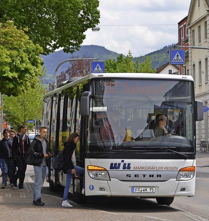 Die Anbindung des Bahnhofs an die Inne...ung für die ÖPNV-Struktur in Müllheim.  | Foto: SARAH Minarik