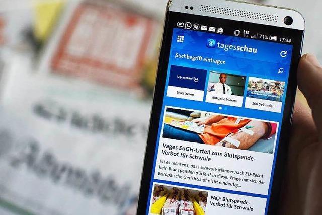 Streit um Tagesschau-App geht weiter