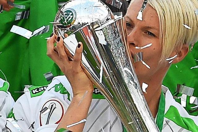 Wolfsburger Frauen holen den Cup