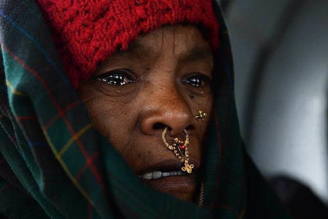 Nach dem Beben: Nepalesen packen selbst an