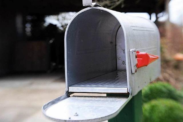 Viele Briefkästen bleiben leer