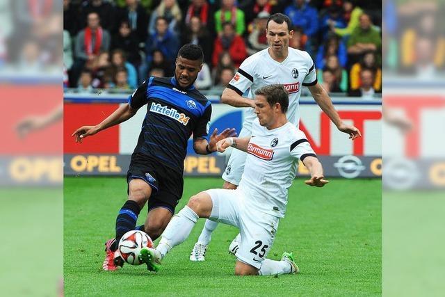 Der SC Freiburg verliert im Abstiegskampf mit 1:2