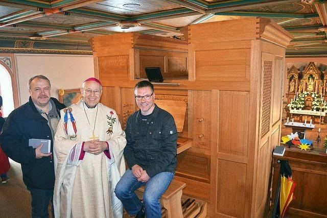 Orgelweihe auf dem Hörnleberg