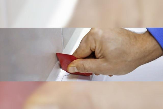 Arbeiten mit Fingerspitzengefühl