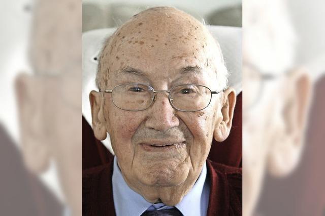 Rudolf Welz 90 Jahre alt