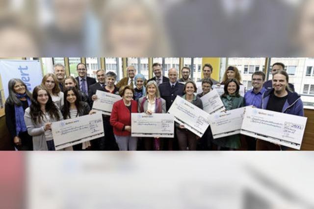 PSD-Bank spendet für zehn gute Zwecke