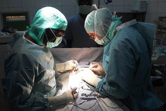 Freiburger Chirurg hat in Burkina Faso ein Krankenhaus eröffnet