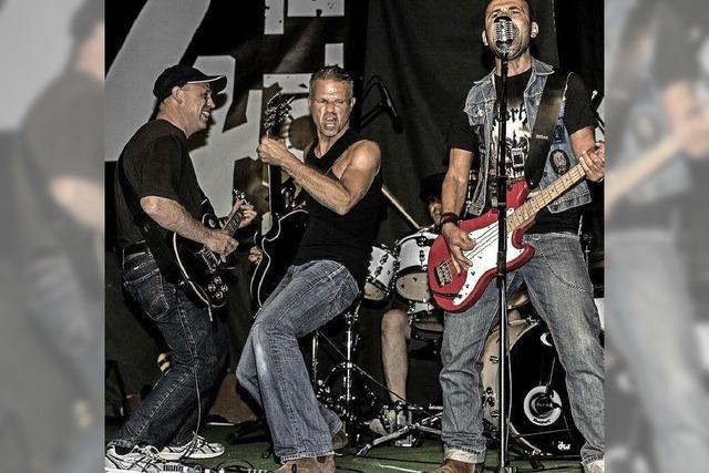 Die Band 4Volt gastiert im Rock-Café Altdorf