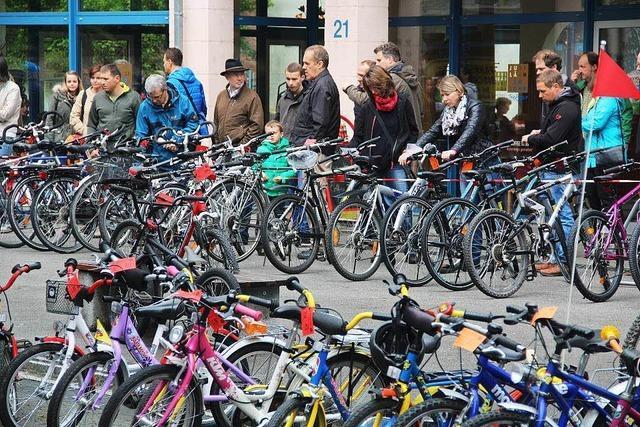 170 Fahrräder im Angebot – 60 Prozent sind weg