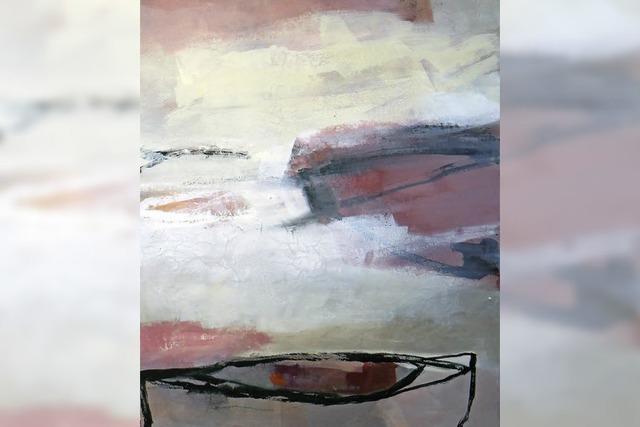 Werke von Lydia Leigh-Clarke im Forum Merzhausen