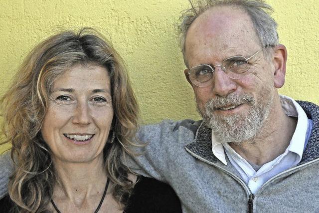 Hans Jürg Müller und Cornelia Lenzin in Kleinkems