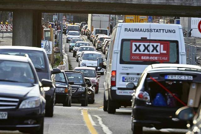 Polizei sucht Rezept gegen Verkehrskollaps in Freiburg
