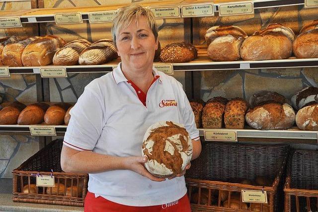 Elvira Ritter verkauft seit mehr als 30 Jahren Brotwaren