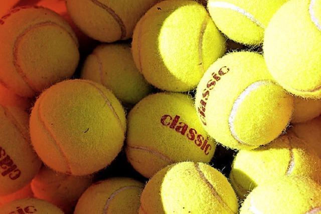 Offene Tennistüren beim TC Grün-Weiß