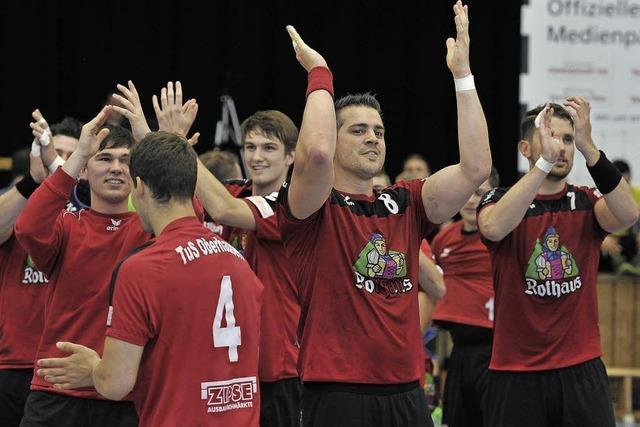 Handball-Landesligist TuS Oberhausen holte den Meistertitel