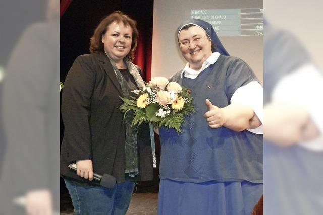 Schwester Teresa begeistert in Herten