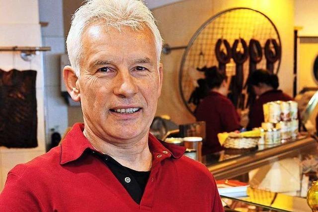 Metzger Joachim Lederer gibt jungen Leuten eine Chance
