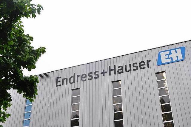 Endress + Hauser investiert weiter massiv in der Region